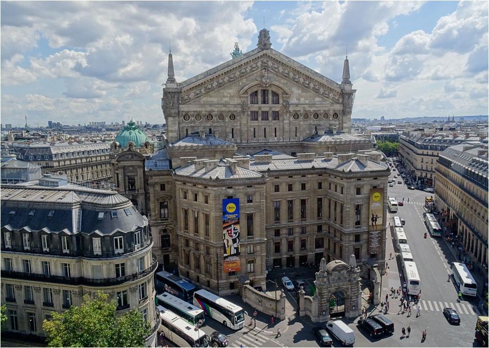 uitzicht Galerie Lafayette Parijs