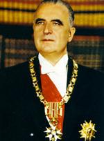ex-president Pompidou