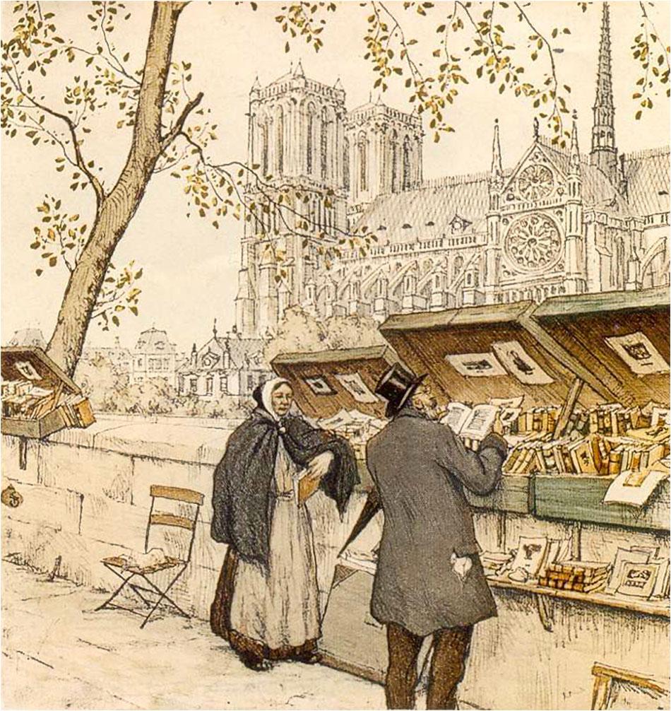 Bouguiniste Parijs