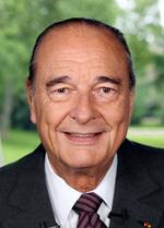 ex-president Chirac