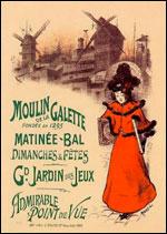 parijsmijnstad - Moulin Galette Parijs