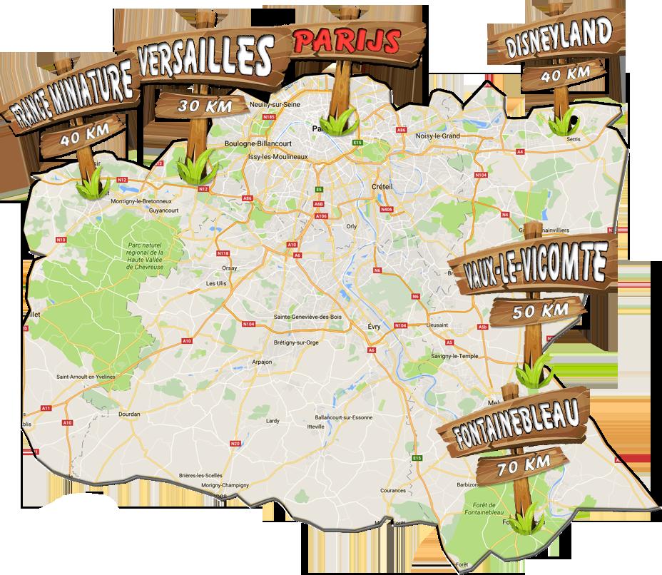 parijsmijnstad - bezienswaardigheden net buiten Parijs