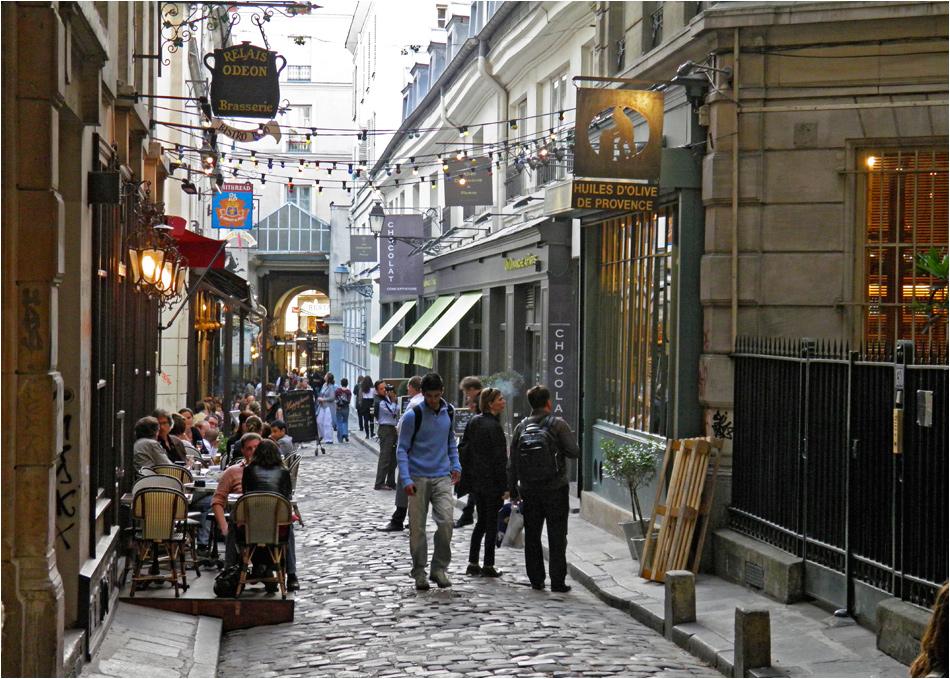 Cour du Commerce St.-André - Parijs
