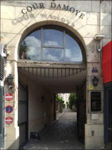 parijsmijnstad - Cour Domaye