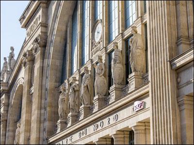 parijsmijnstad - Gare du Nord Parijs
