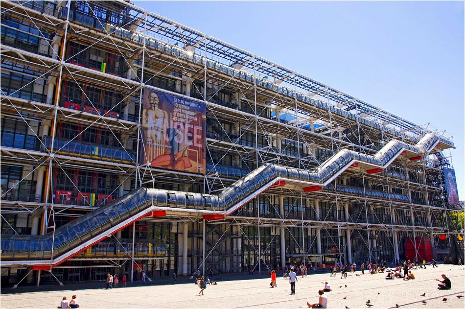 Centre Pompidou Parijs