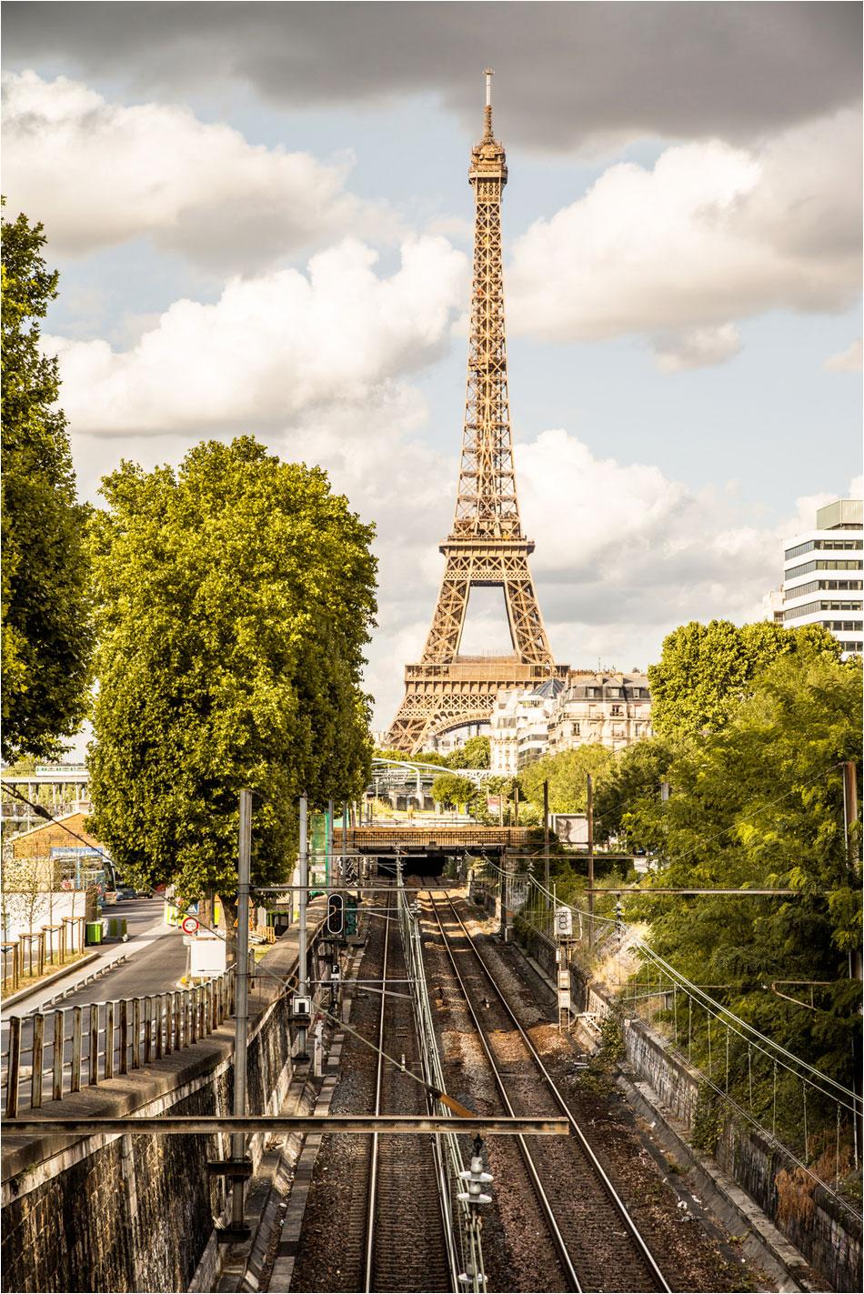 Metro Javel - Tour Eiffel Parijs