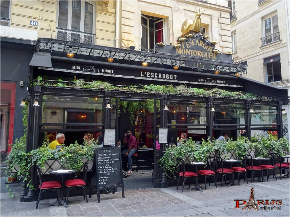 rue Montorgueil - l'Escargot Montergueil