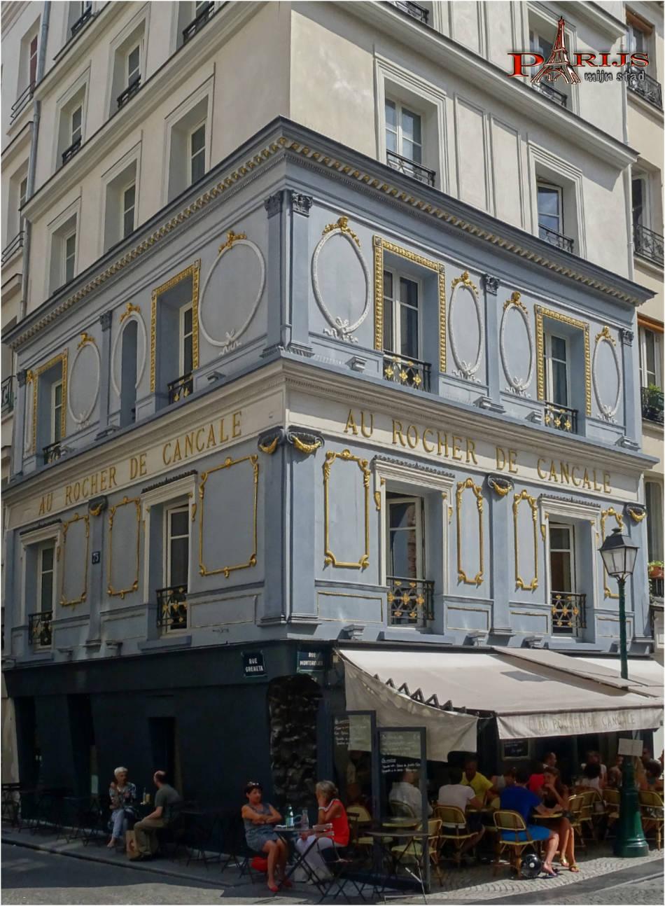 parijsmijnstad-restaurant Au Rocher de Cancale