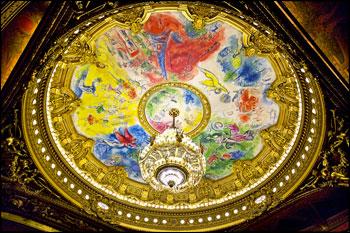 parijsmijnstad - plafond Opéra Garnier Parijs