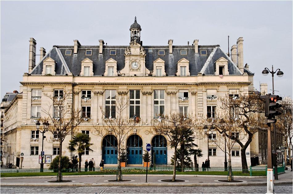 Place d'Italie Parijs