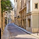 rue de Bievre Parijs
