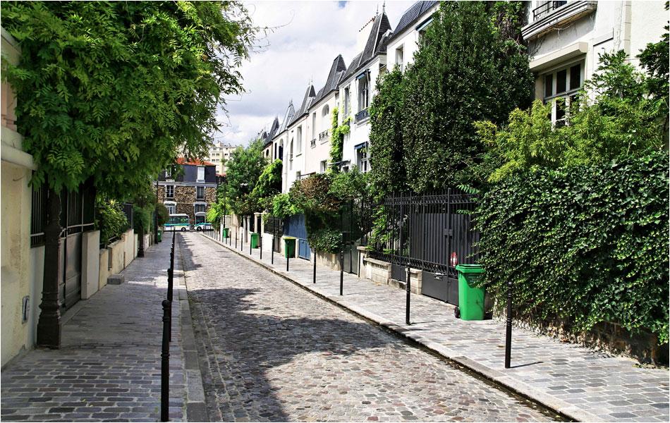 Rue Dieulafoy Parijs