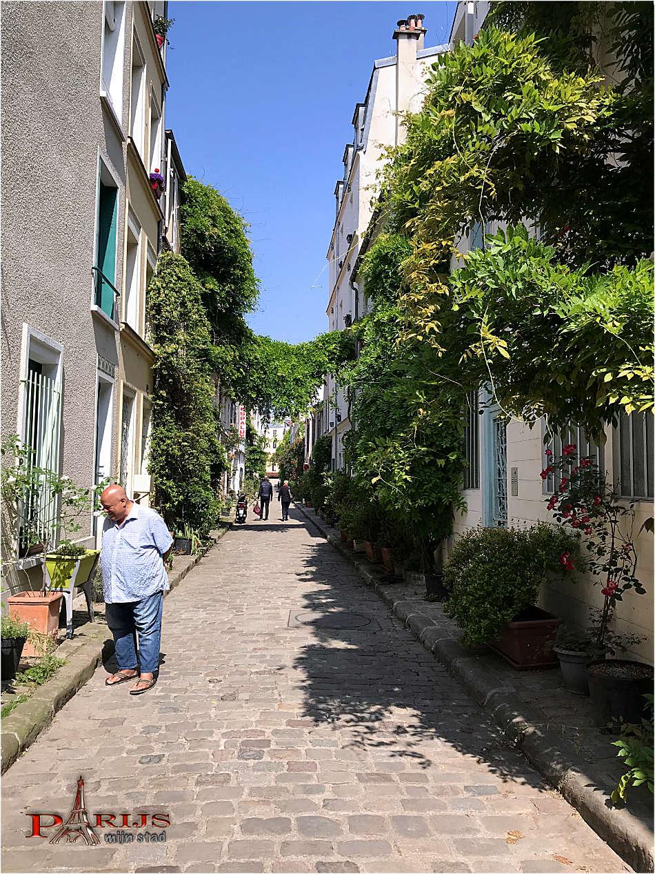 parijsmijnstad - rue des Thermopyles