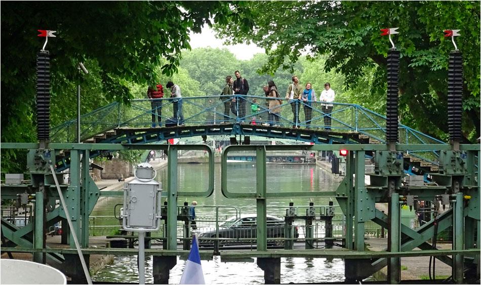 Canal St.-Martin Parijs