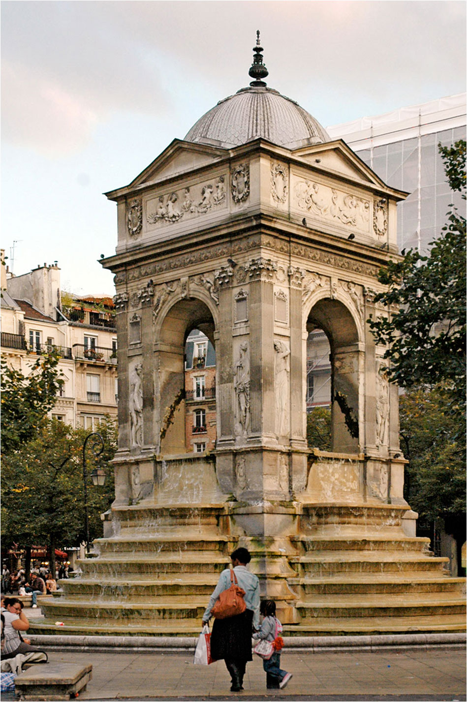 Fontaine Innocents Parijs