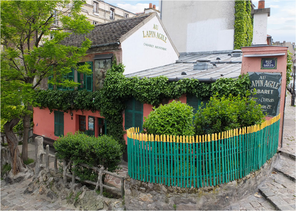 Lapin Agile Parijs