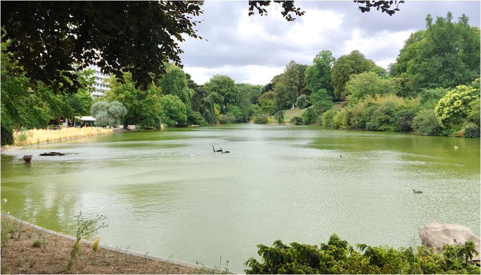 Parc Montsouris Parijs