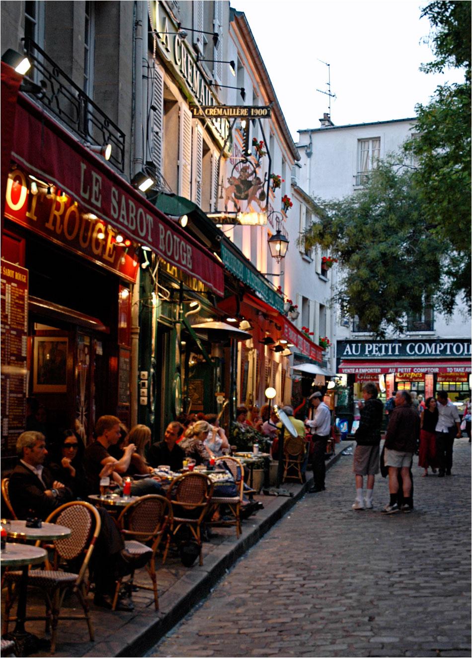 Place du Tertre Montmartre Parijs