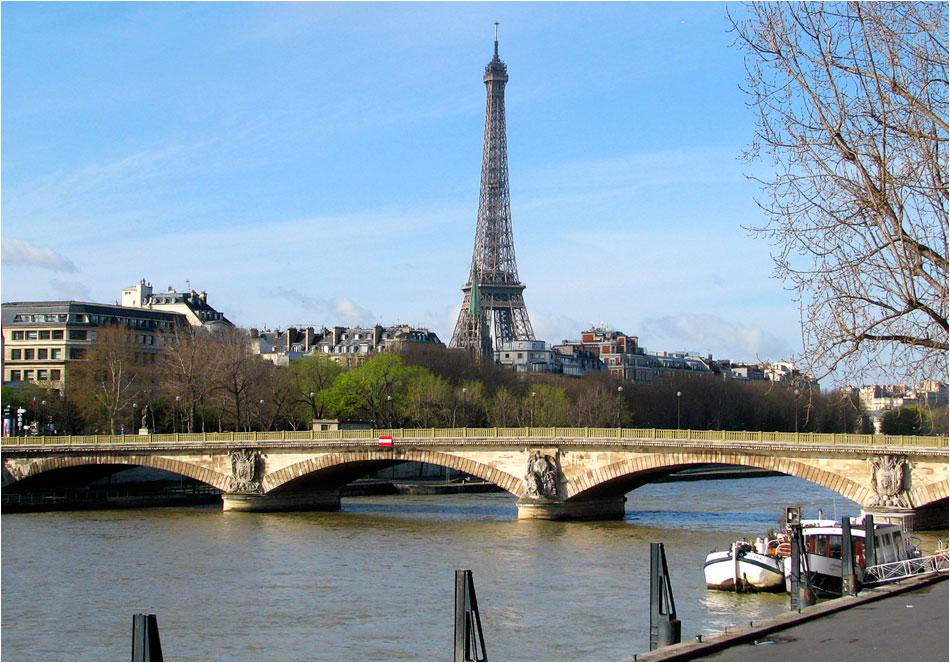 Pont d'Alma Parijs