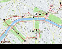 Wandelen in Parijs