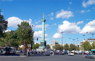 parijsmijnstad - Place Bastille Parijs