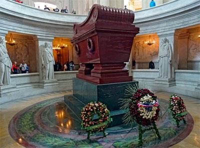 parijsmijnstad - tombe Napoleon Parijs