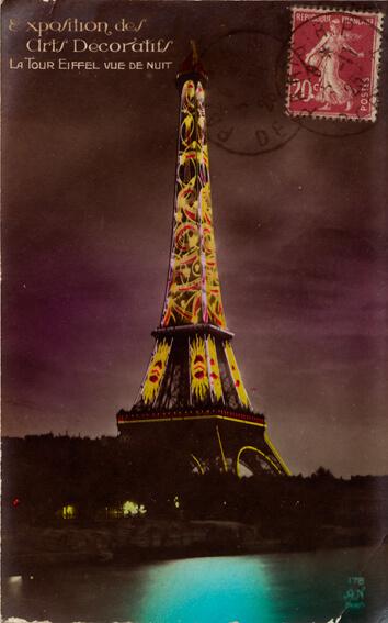 parijsmijnstad - Eiffeltoren - 1923