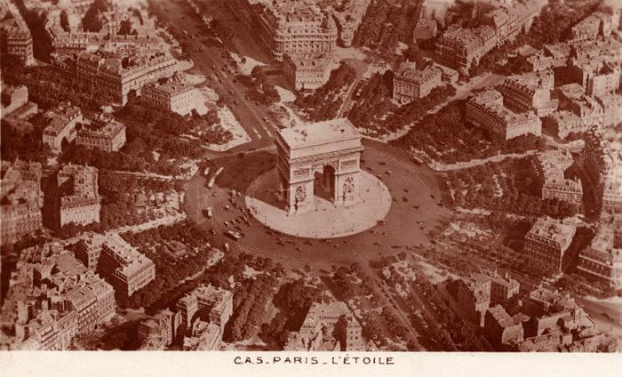 parijsmijnstad - Place Etoille - 1913