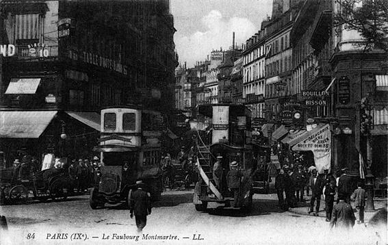 parijsmijnstad - Rue du Faubourg Montmartre