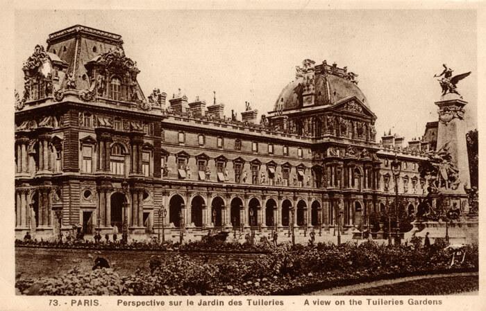 parijsmijnstad - Louvre paviljoen Richelieu