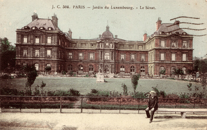 parijsmijnstad - Palais Luxembourg - 1917