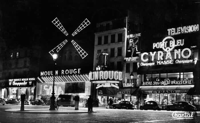 parijsmijnstad - Moulin Rouge - 1957