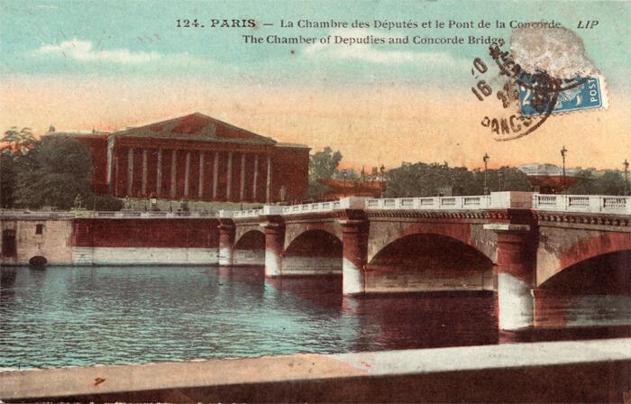 parijsmijnstad - Palais Bourbon - 1923