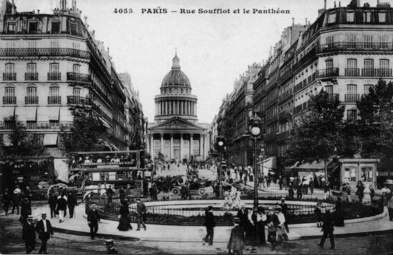 parijsmijnstad - Panthéon - 1909