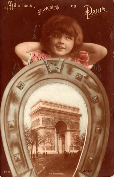 parijsmijnstad - kaart van Arc de Triomphe