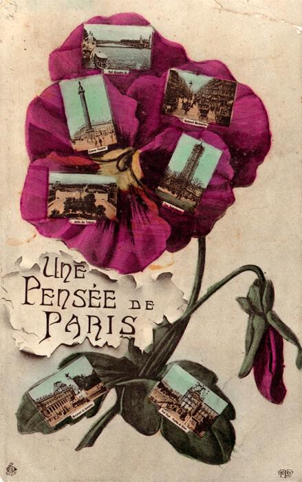 parijsmijnstad - kaart uit 1908