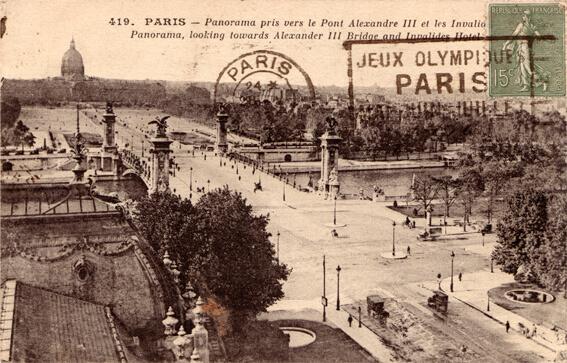 parijsmijnstad - Pont Alexandre III - 1924