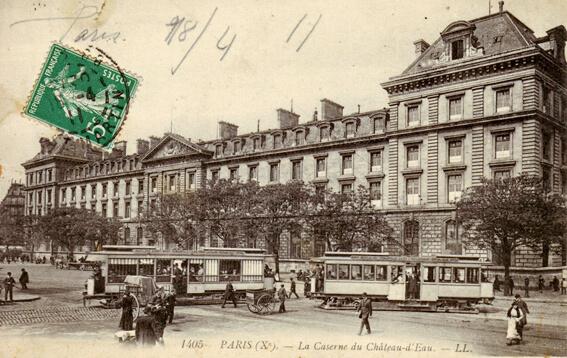parijsmijnstad - Place de la Republique - 1911