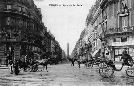 parijsmijnstad - Rue de la Paix