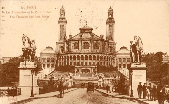 parijsmijnstad - Trocadero - 1926