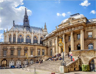 parijsmijnstad - Palais Justice Parijs