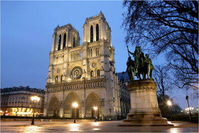parijsmijnstad - Notre Dame Parijs