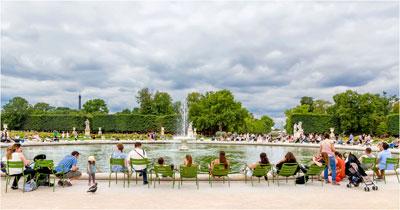 parijsmijnstad - Parc des Tuileries Parijs