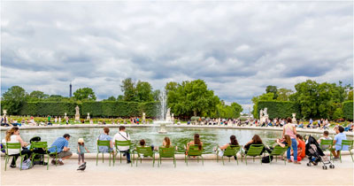 Jardin des Tuileries Parijs